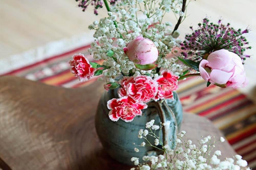 ARTESA - apartamento flor y nata - detalle floral